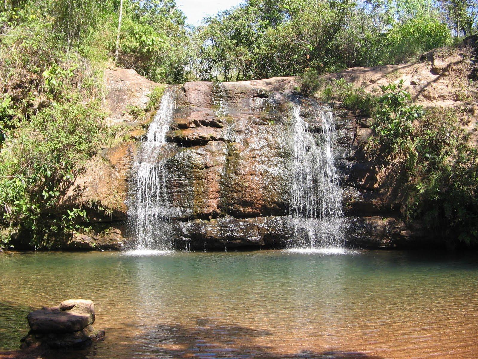 Uma das refrescantes cachoeiras do parque - Crédito da foto: JJViagens