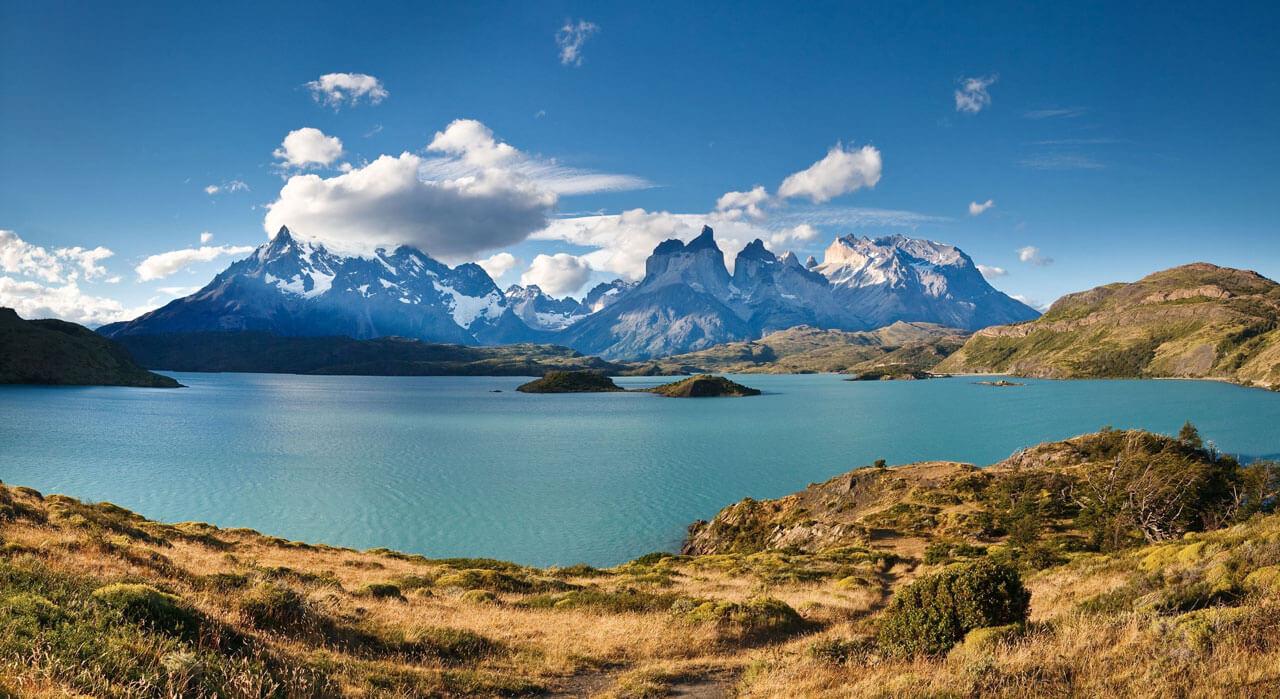 A vista arrebatadora do Parque Nacional de Torres del Paine