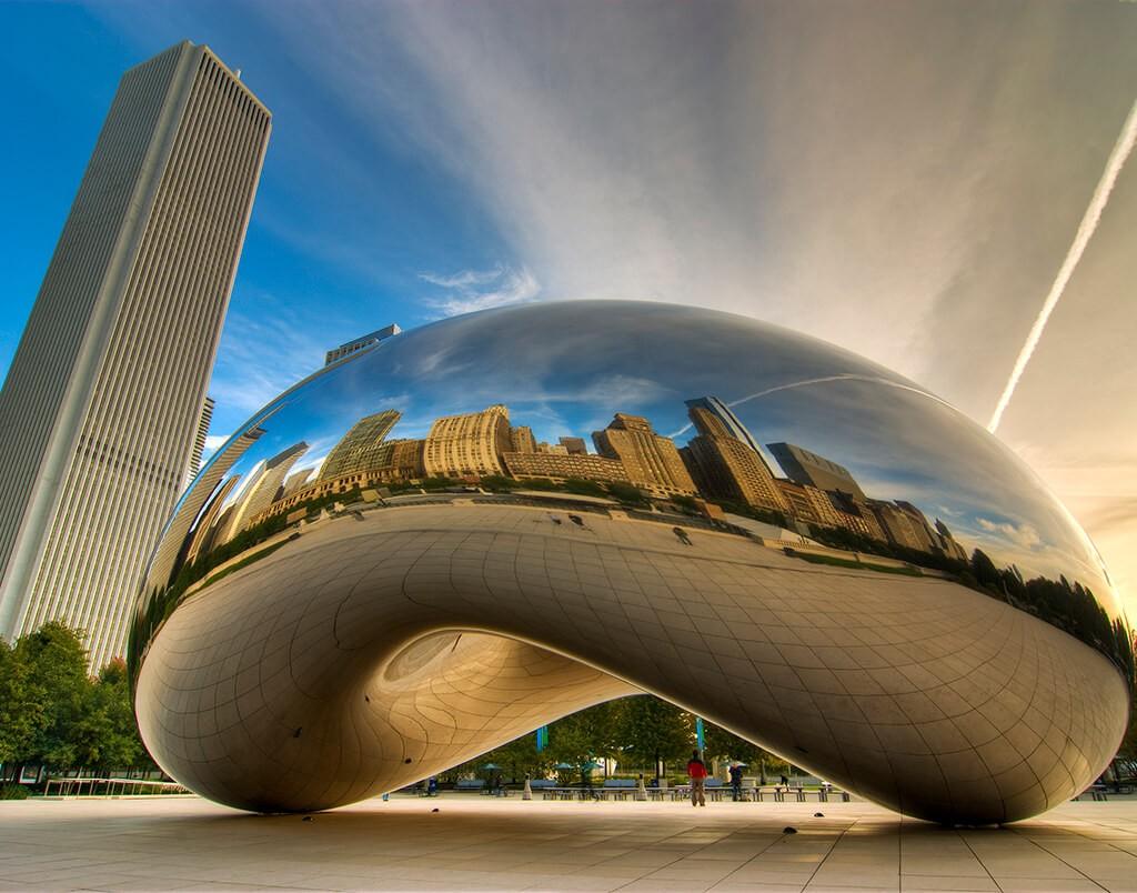 Cloud_Gate_pacote-de-viagem-para-chicago