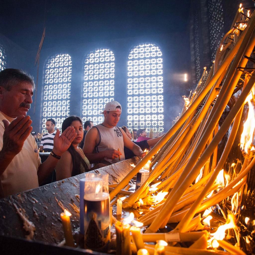 Santuário Nacional de Nossa Senhora Aparecida - velas